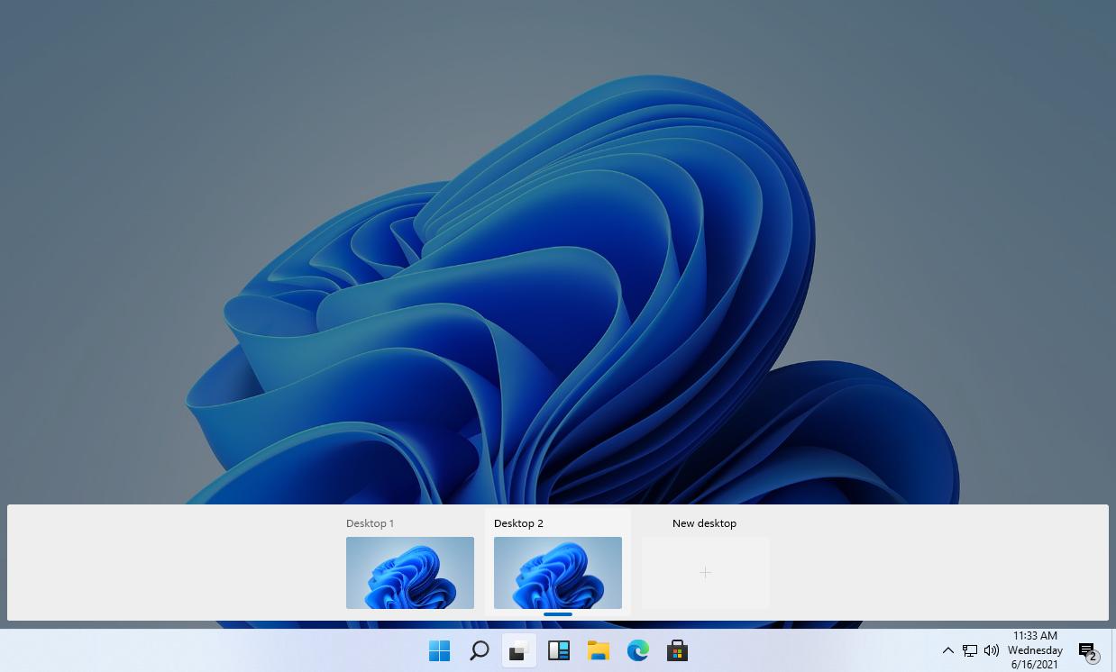 Windows 11泄露版界面欣赏